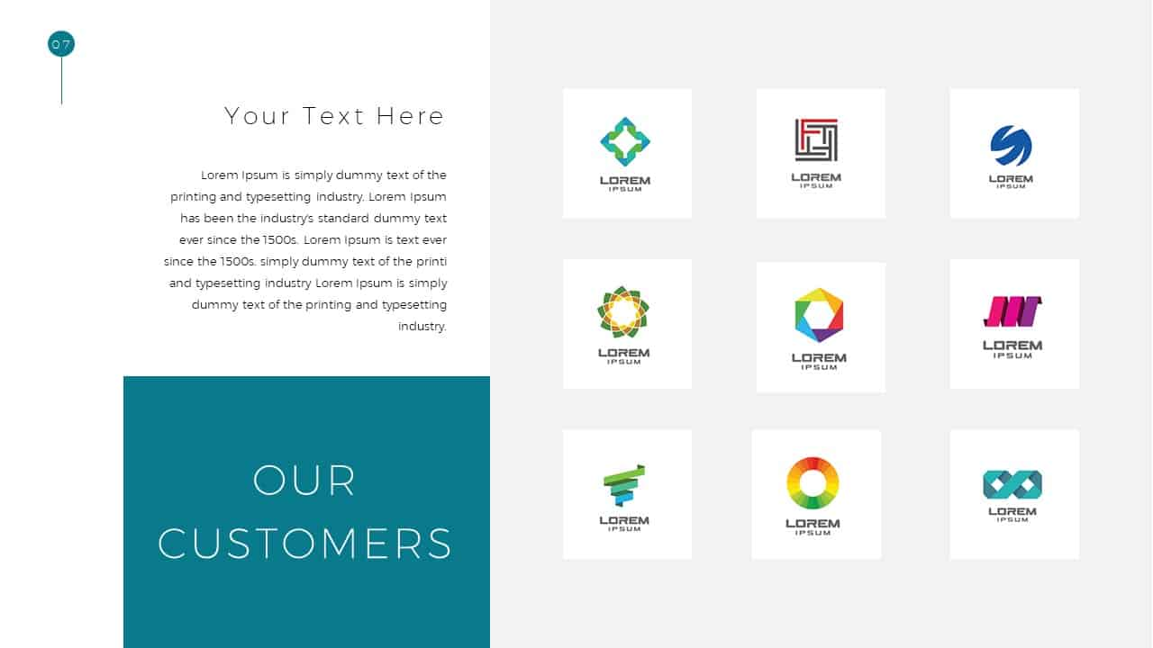Simple Business Deck Customer Templates