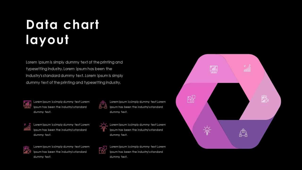 Business PowerPoint Presentation Template Data Chart Layout