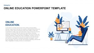 Online Education Template for PowerPoint Presentation