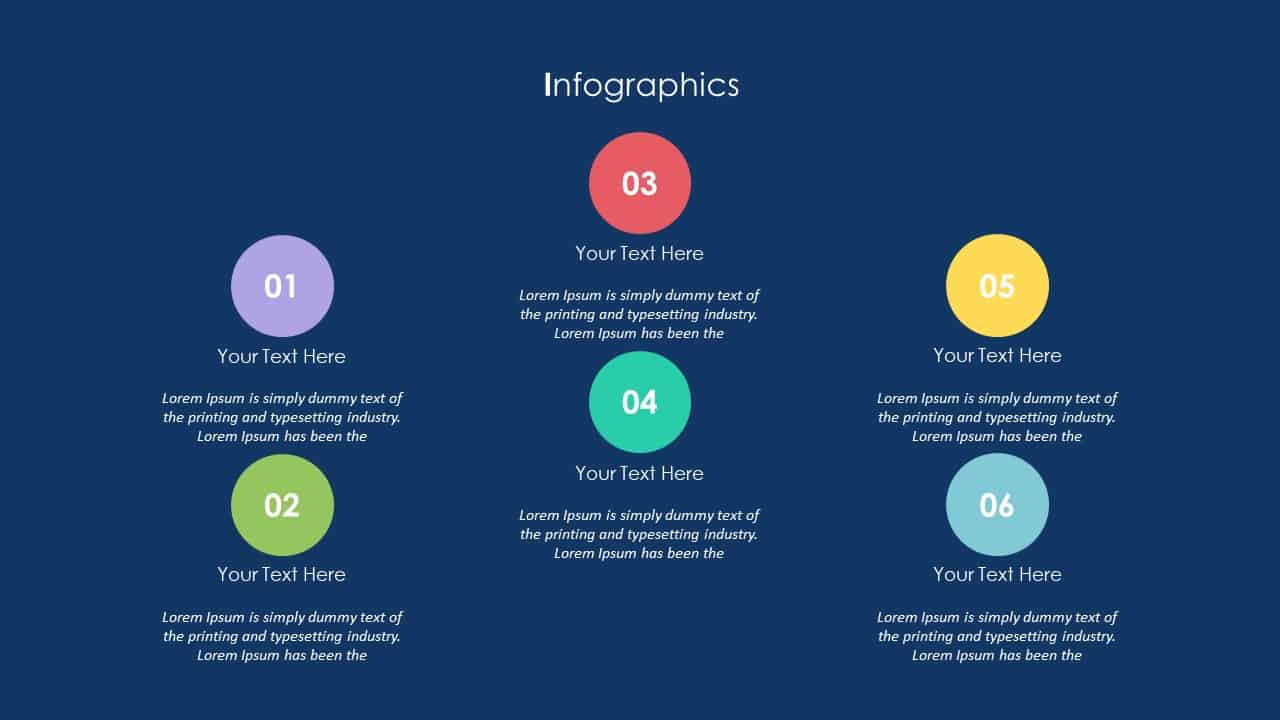 School Communication App Deck Infographic Template