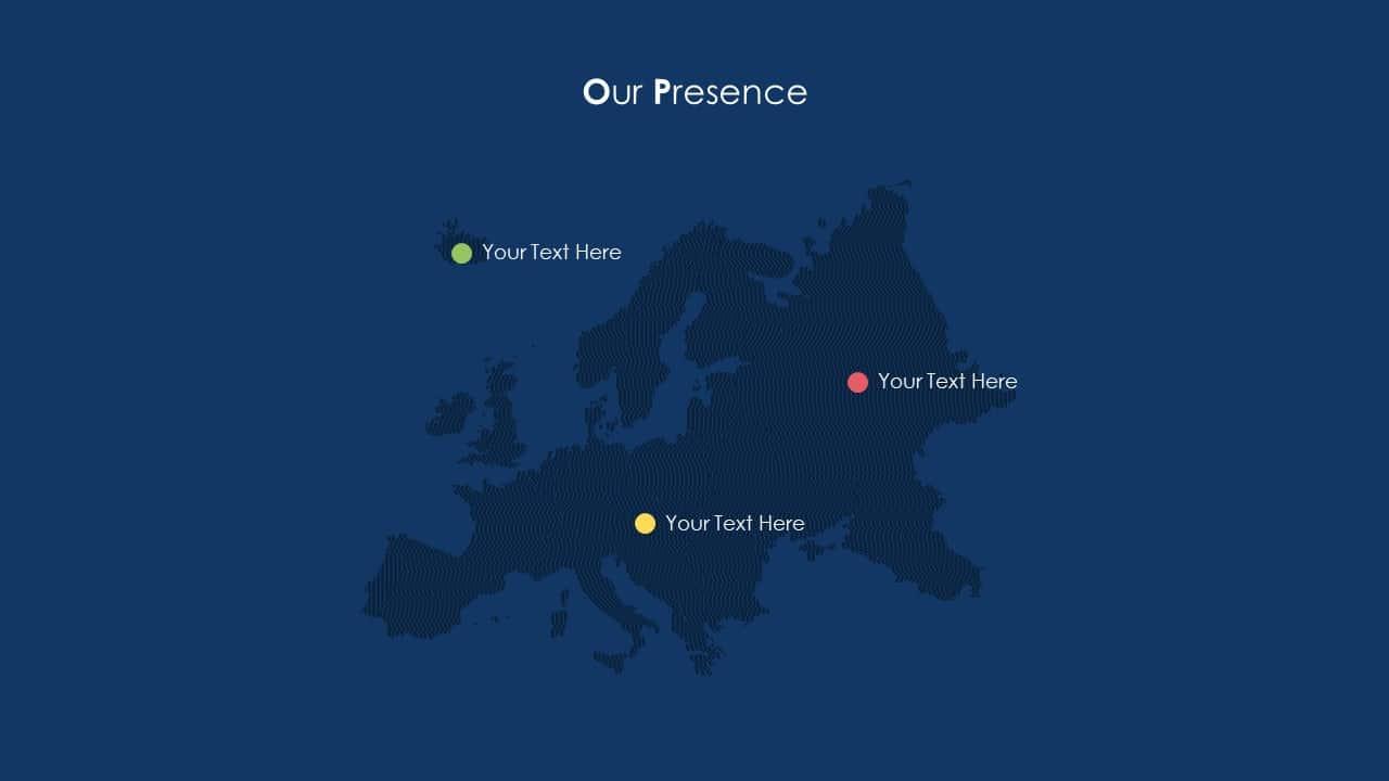 School Communication App Deck Map Template