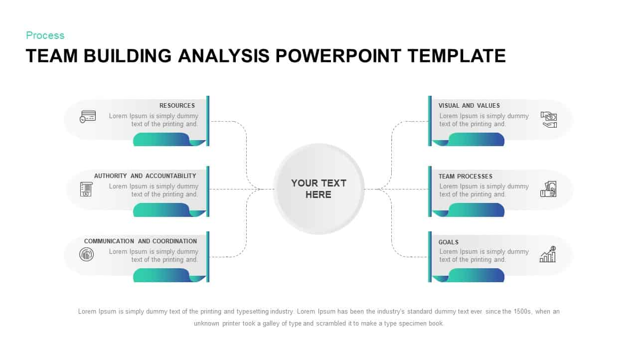 Team building analysis PowerPoint template