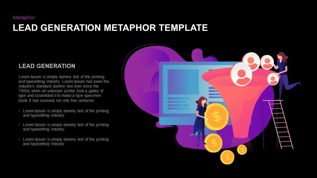 lead generation PowerPoint template