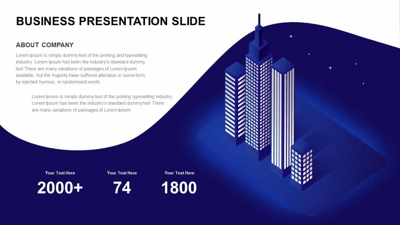 Business Presentation Slide