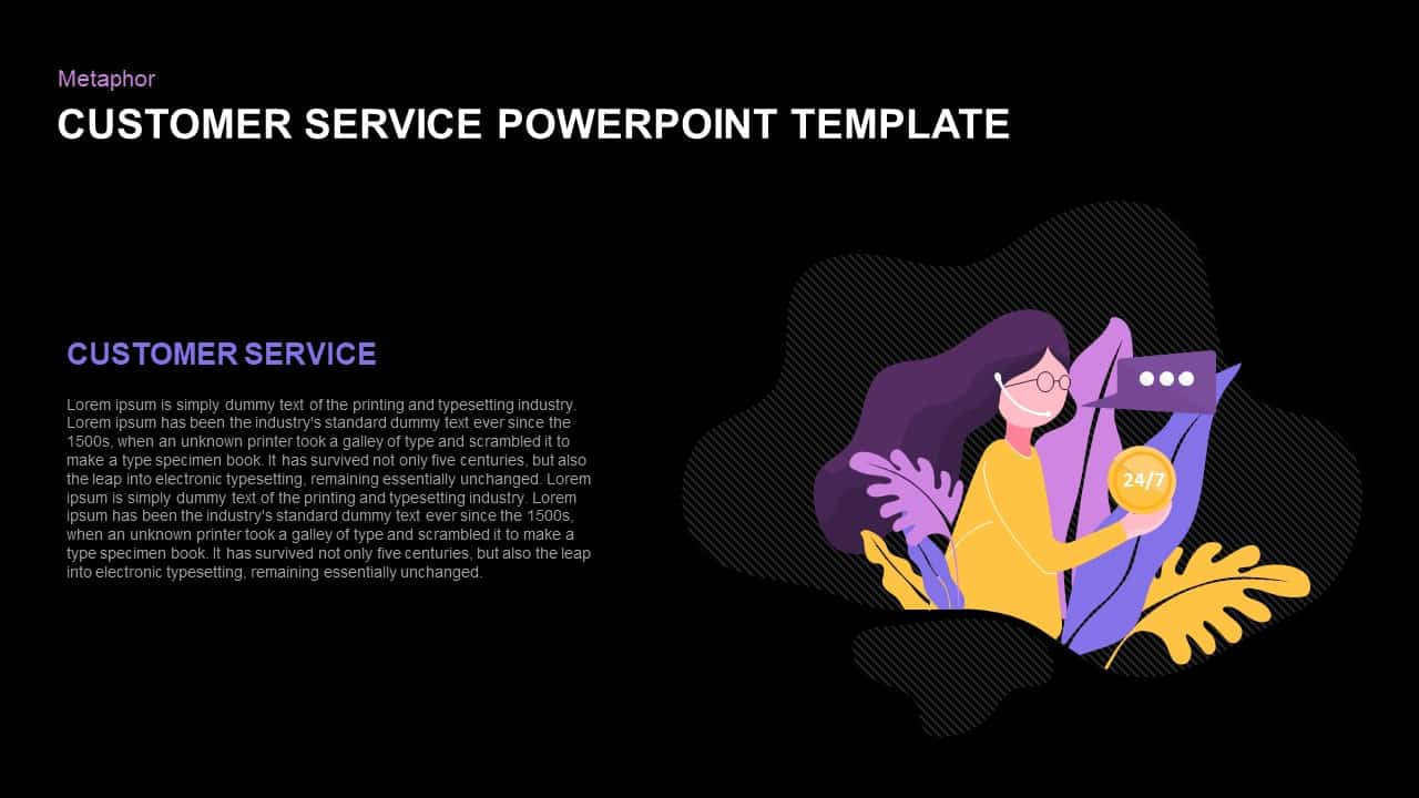 Customer Service Ppt Template