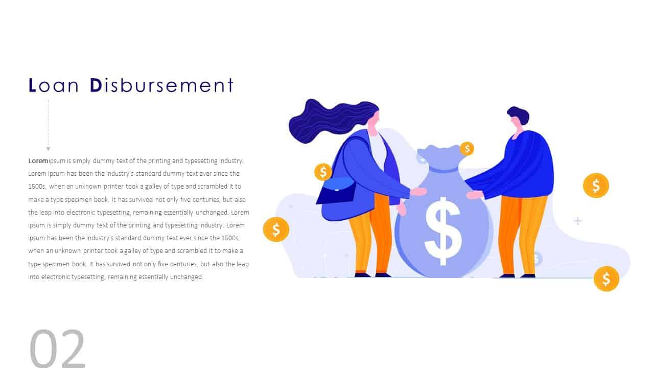 Financial Agreement Signing Template Loan Disbursement