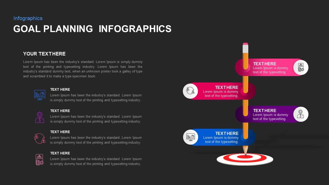 Goal Planning Ppt Infographic Template
