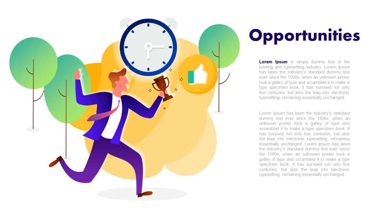 SWOT Analysis Template Deck Opportunities