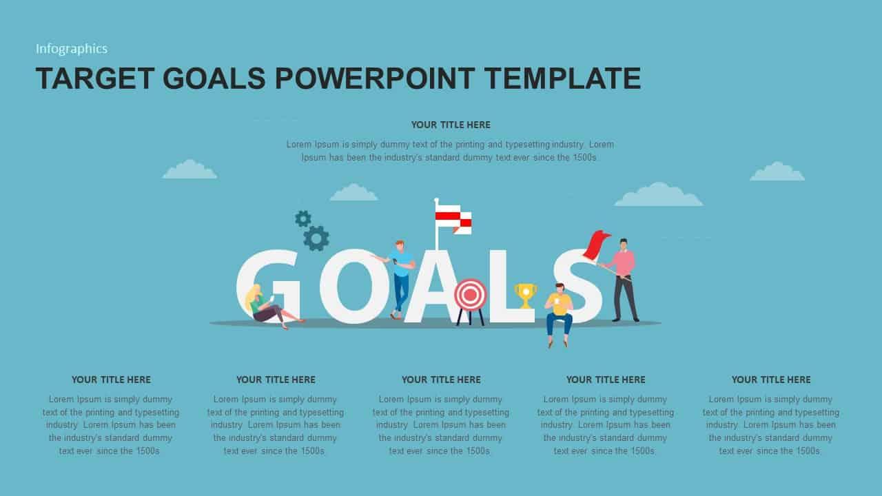 Target Goals PowerPoint Template