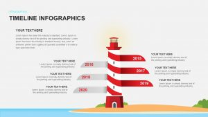 Timeline Infographic Template for PowerPoint Presentation