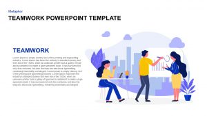 Teamwork PowerPoint Template for Presentation