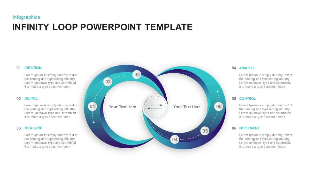 Infinity Loop PowerPoint Template