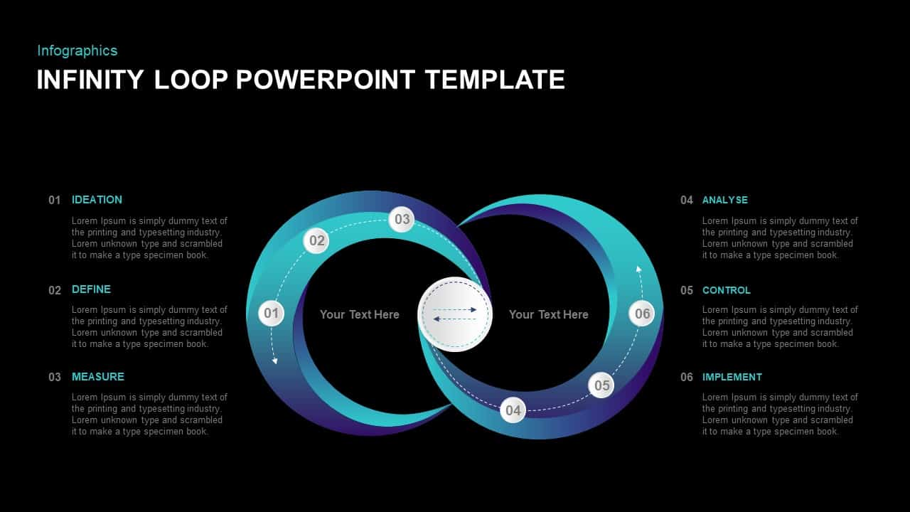 Infinity Loop Ppt Template