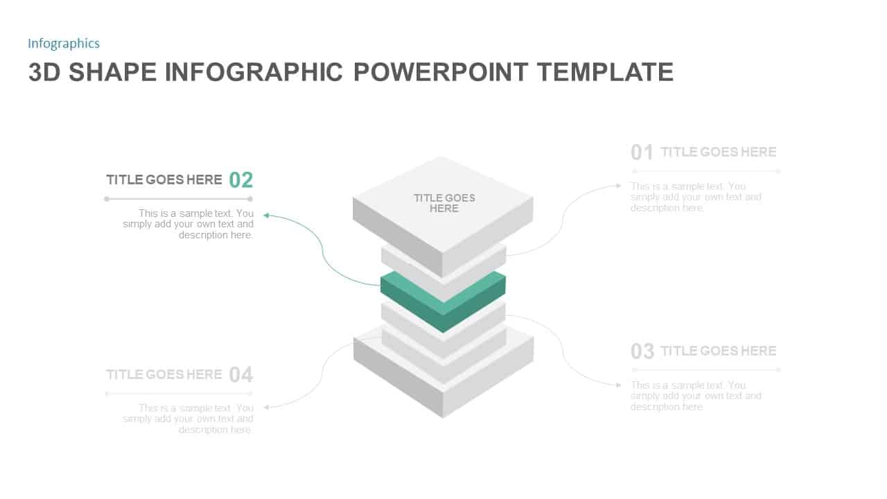 3d Shapes PowerPoint Diagram