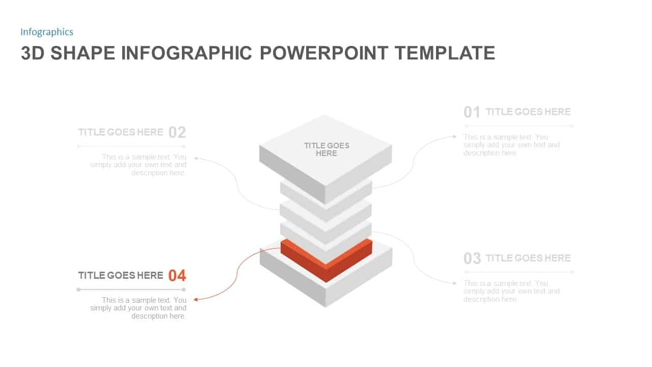 3d Shapes PowerPoint Slide