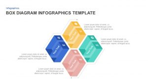4 Box Diagram PowerPoint Template