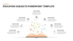 Education Subjects PowerPoint Template