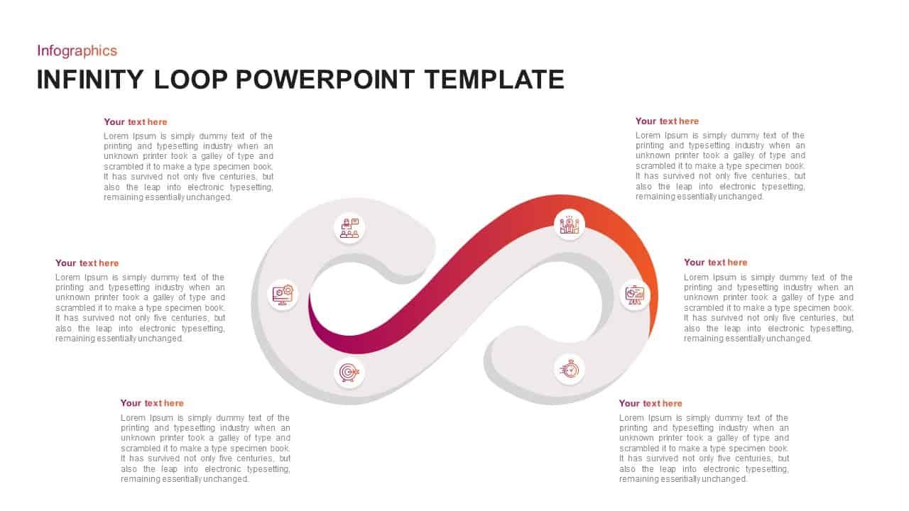 Infinity Loop PowerPoint Template