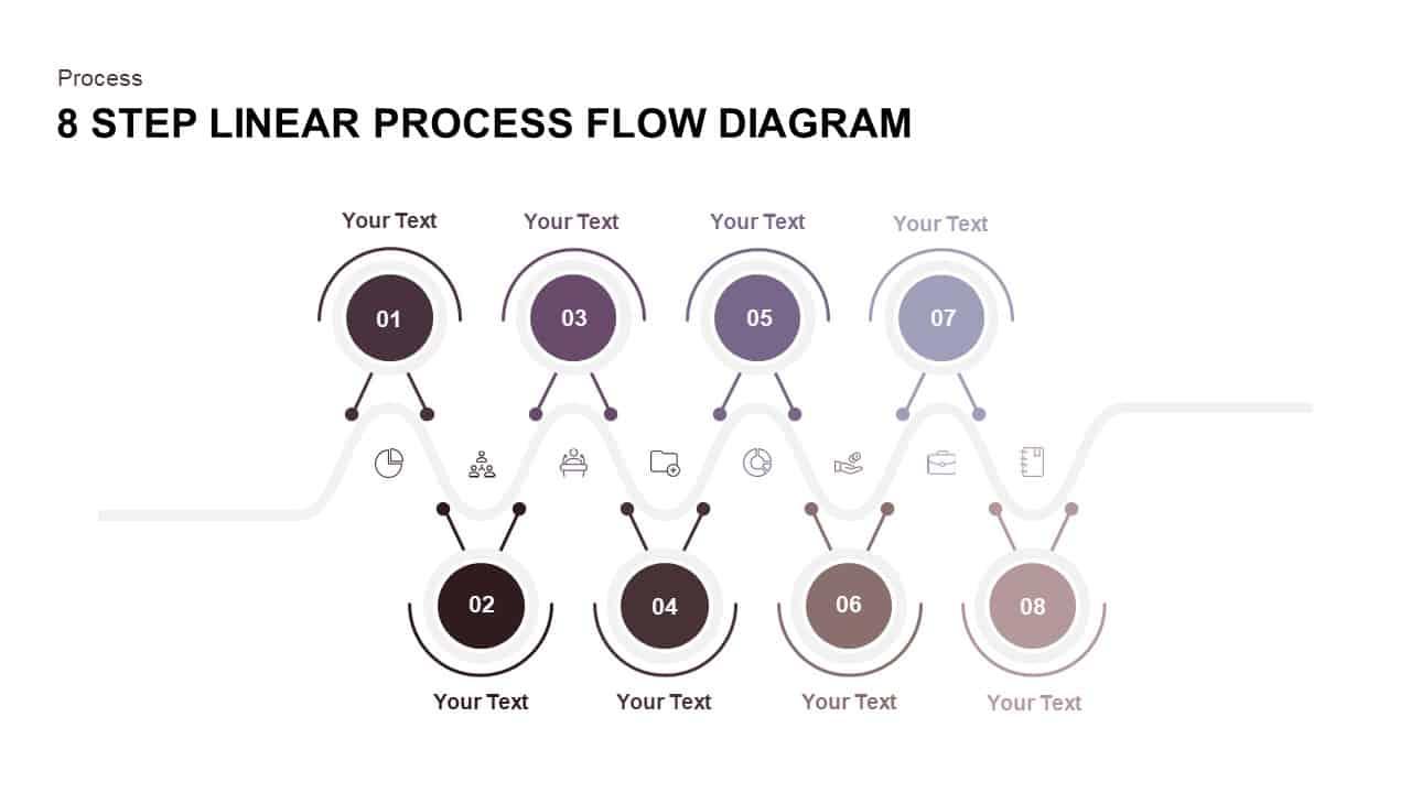 Linear Process Flow Diagram