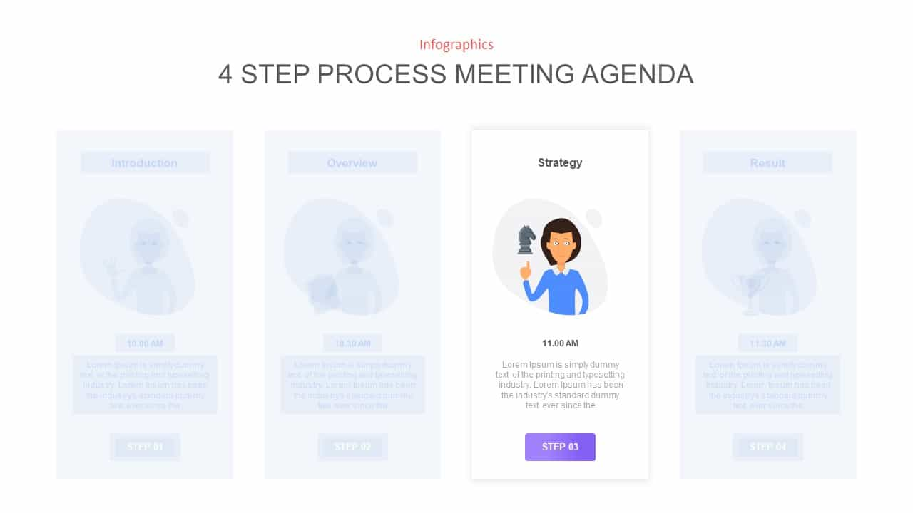 Meeting Agenda Ppt Diagram