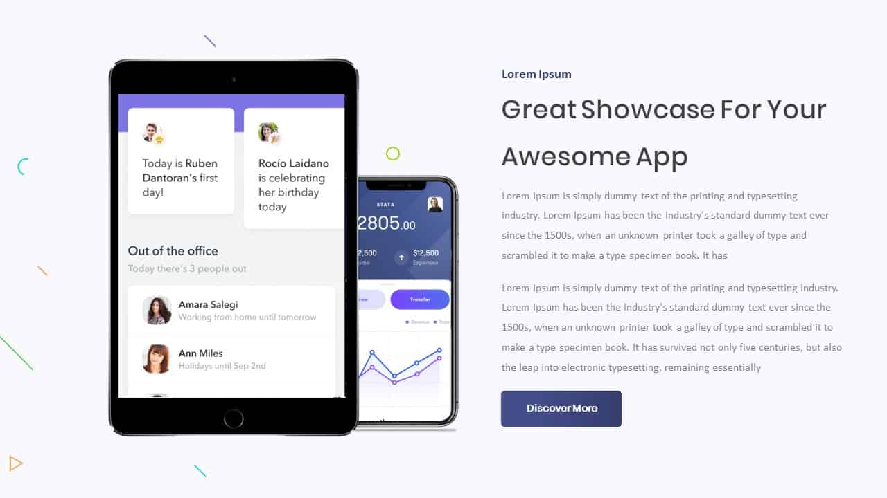 Mobile App Showcase PPT