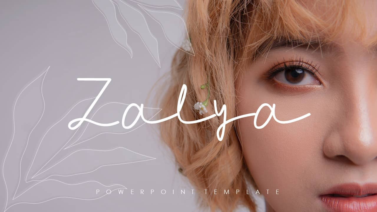 Zalya PowerPoint Template