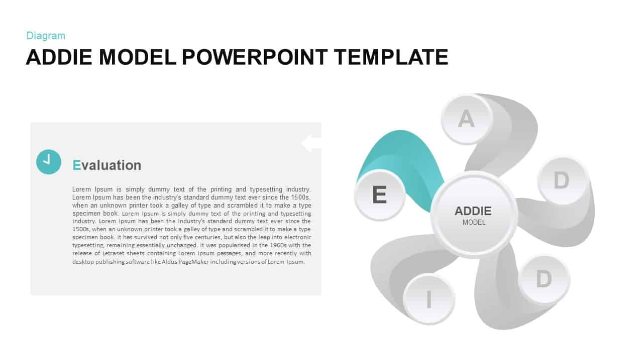 ADDIE Ppt Template
