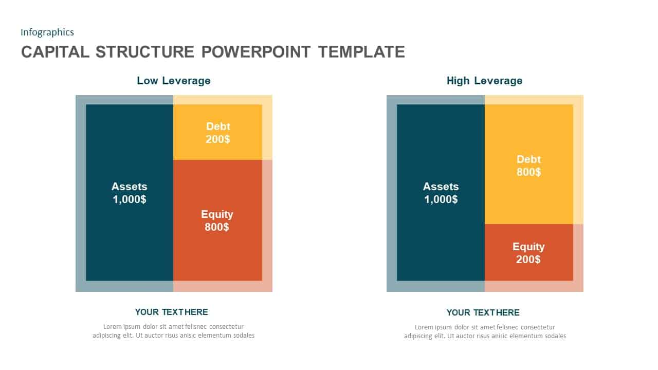 Capital Structure PowerPoint Diagram