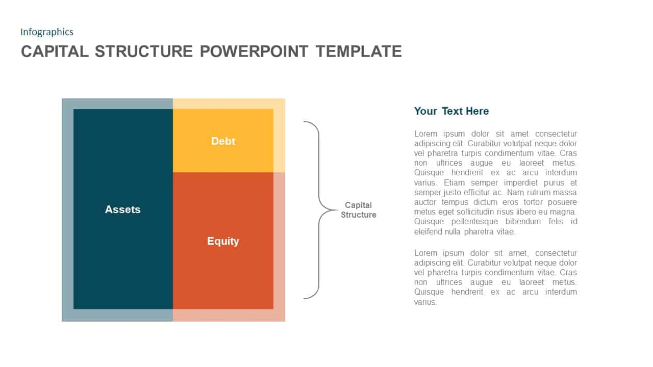 Capital Structure PowerPoint Template