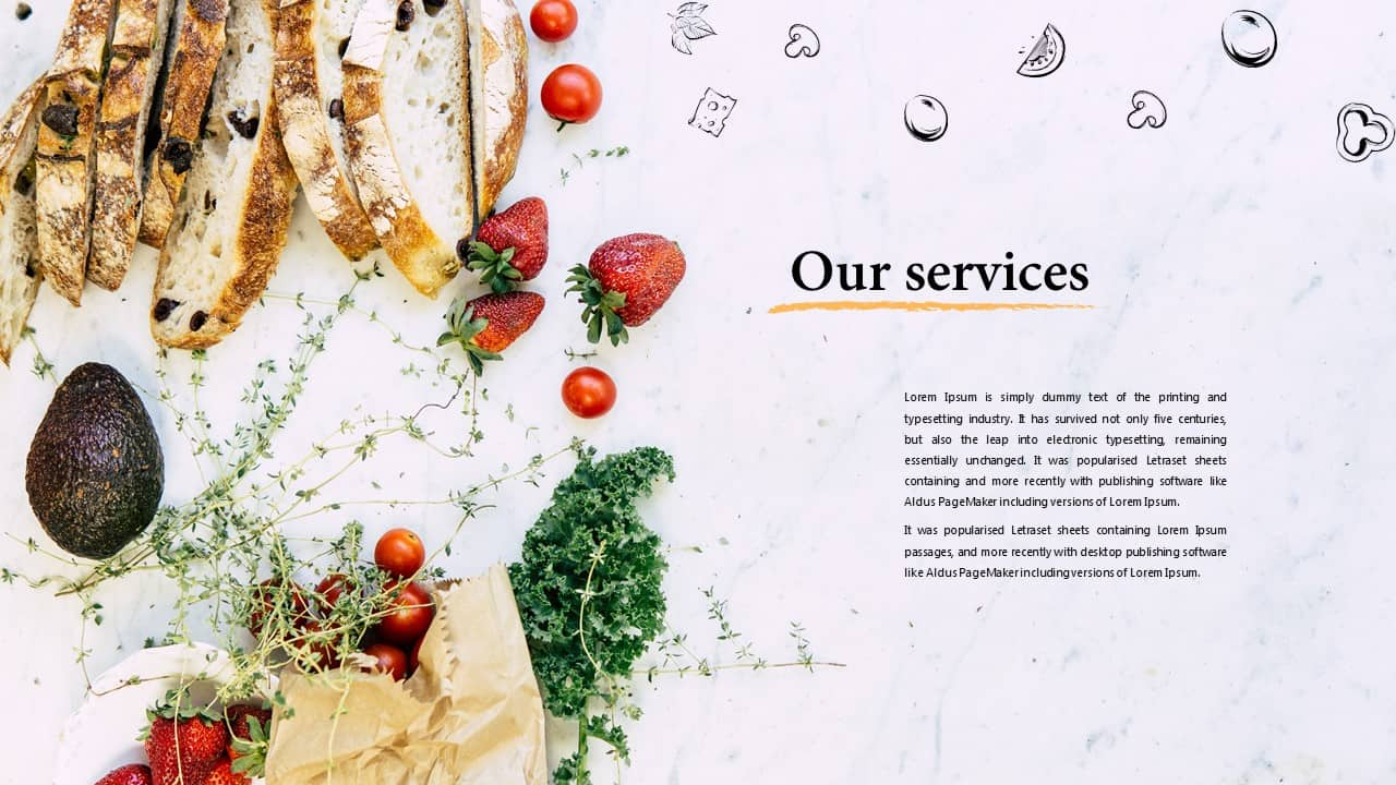 Delicious PowerPoint Template