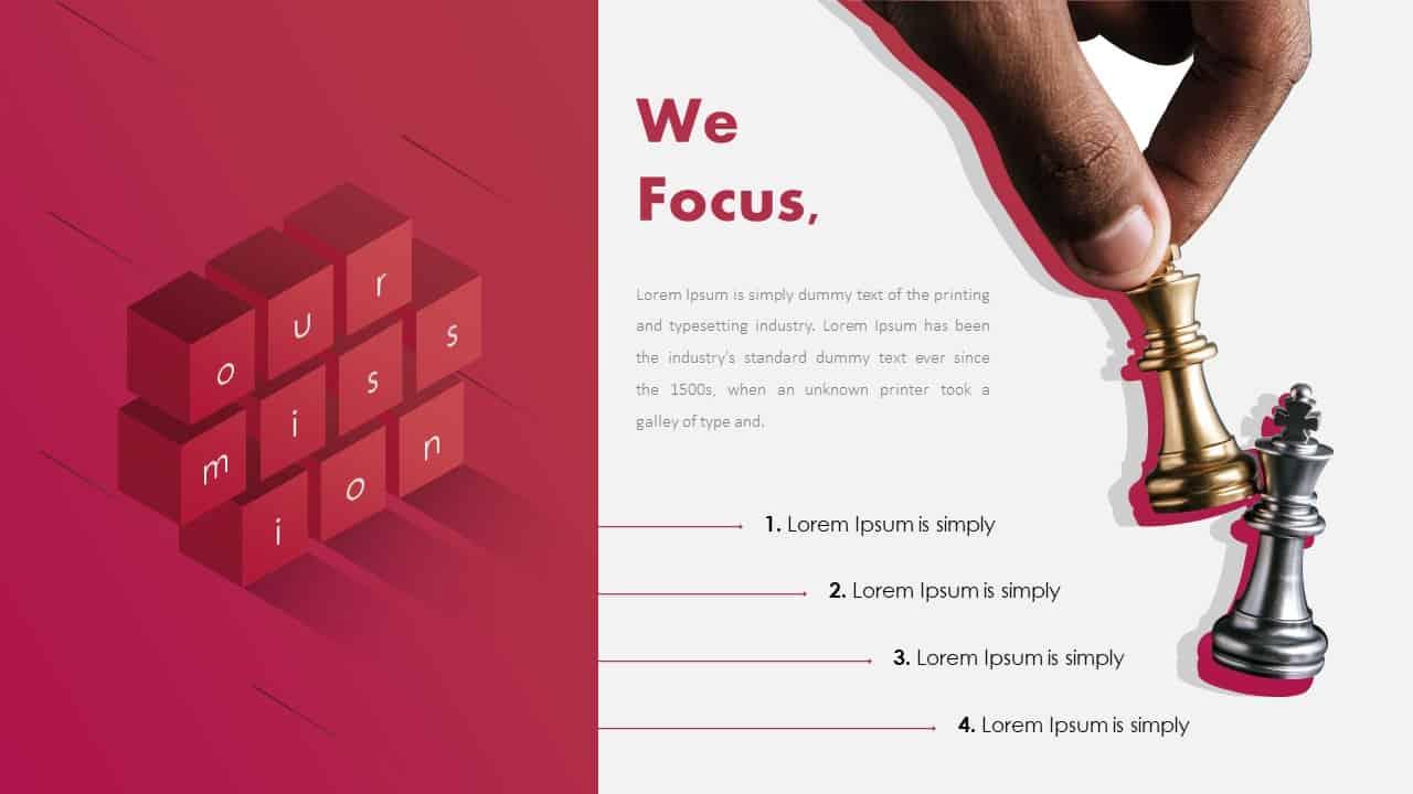 Focus PowerPoint Deck Template