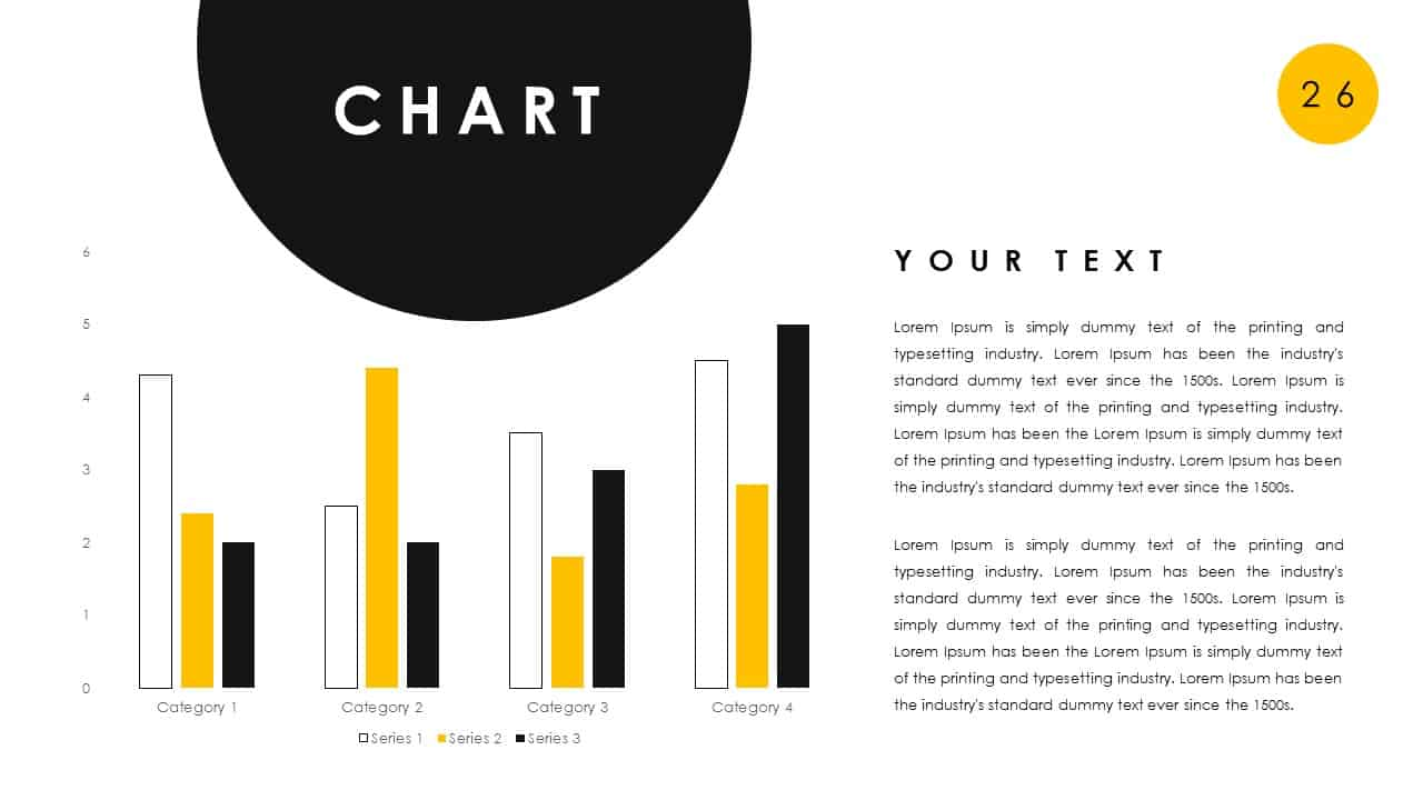 Free Chart PowerPoint Deck Template