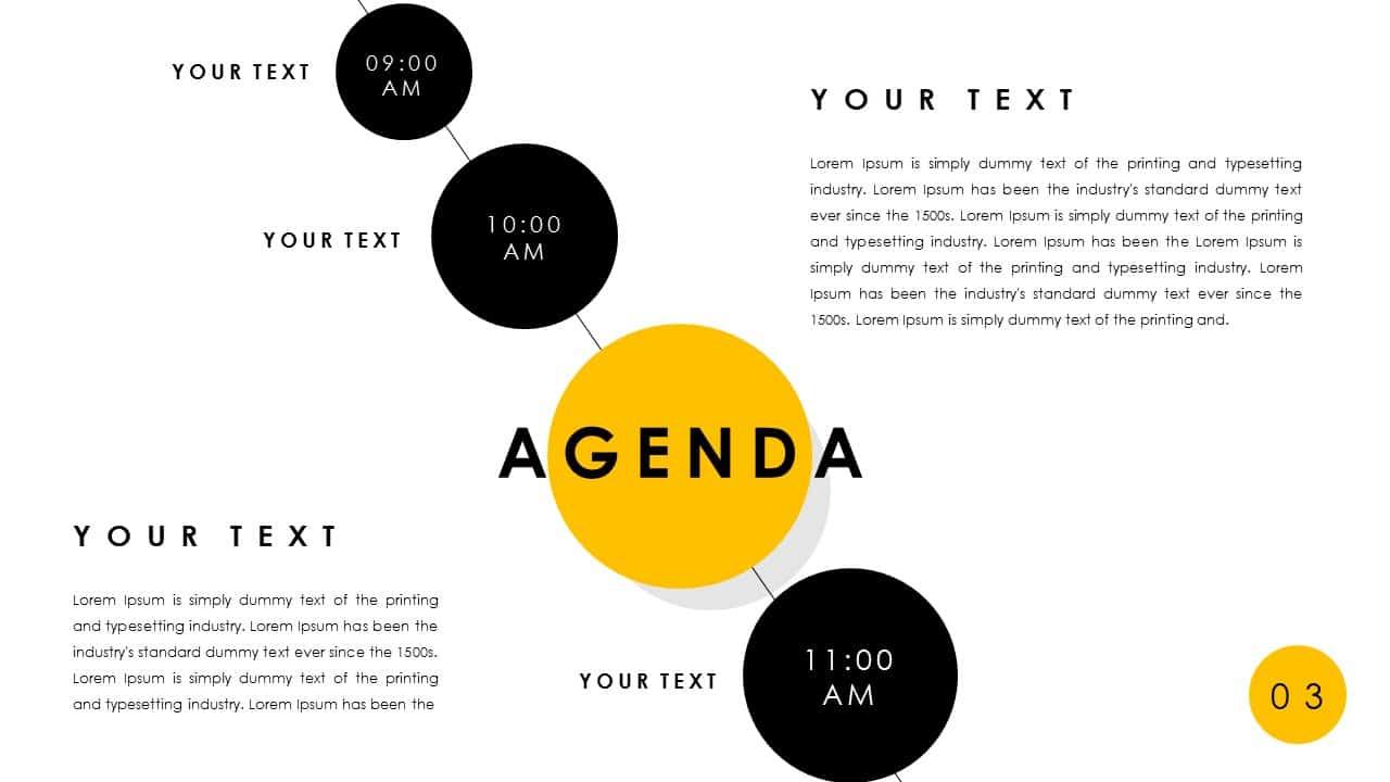 Free Agenda PowerPoint Deck Template