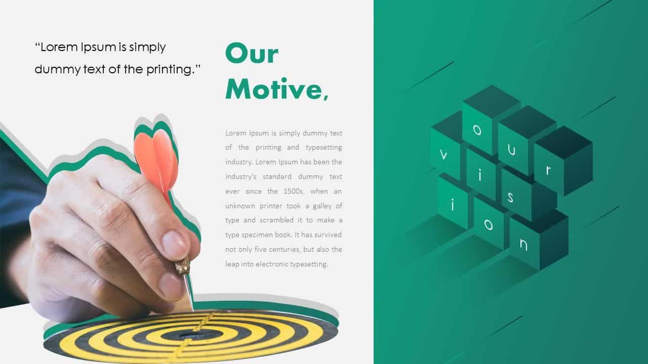Motive PowerPoint Deck Template