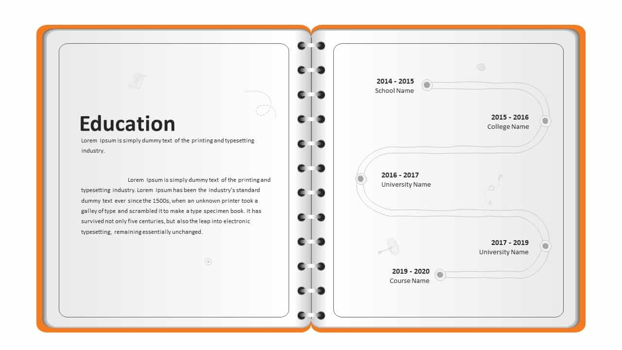 Personal Profile PowerPoint Presentation Template
