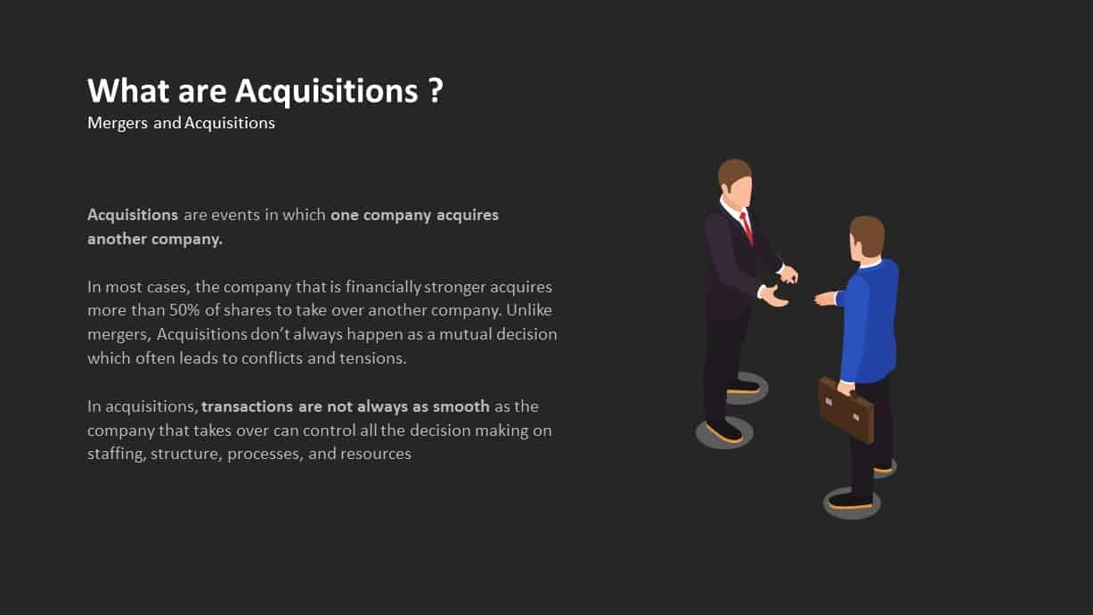 What is Acquisitions Ppt Template