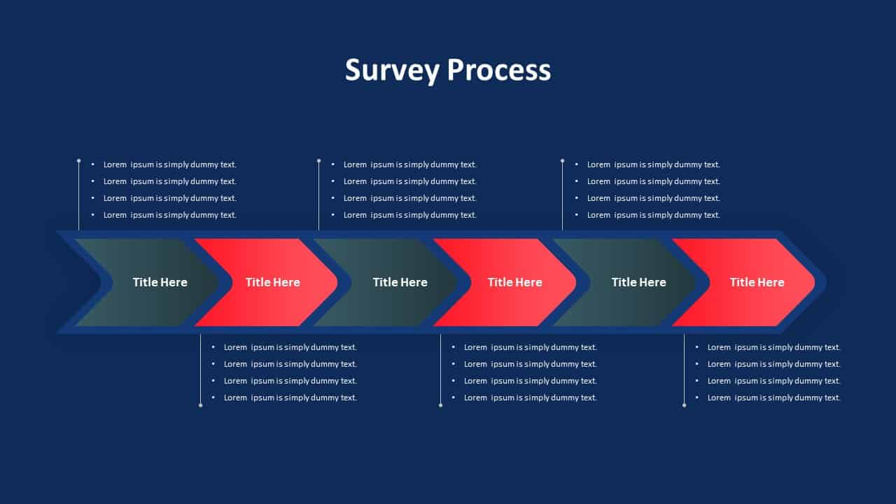 Survey Process PowerPoint Template