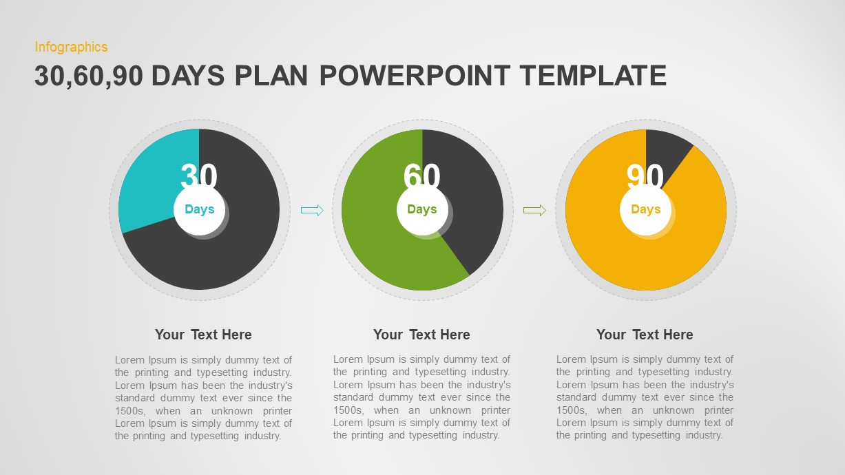 30 60 90 Day Plan Presentation Template