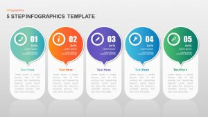 5 Step Infographic Template