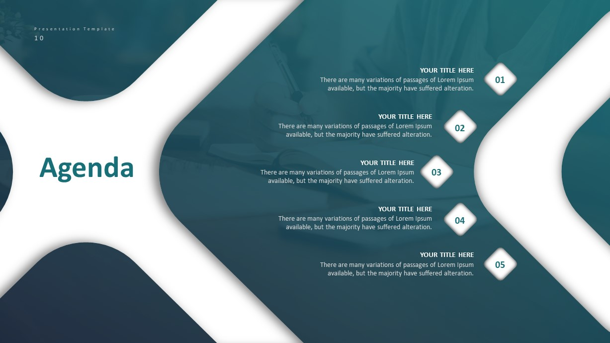 Corporate Business PowerPoint Presentation Template