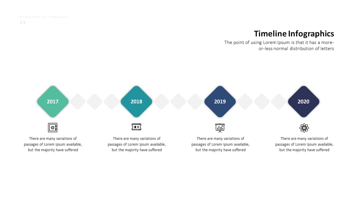Corporate Business PowerPoint Presentation Timeline Template