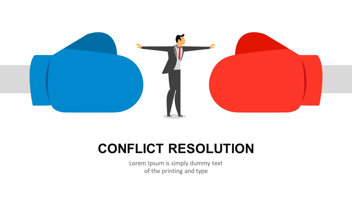 Conflict Resolution PowerPoint Slide