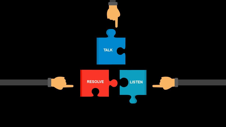 Conflict Resolution Ppt Slide