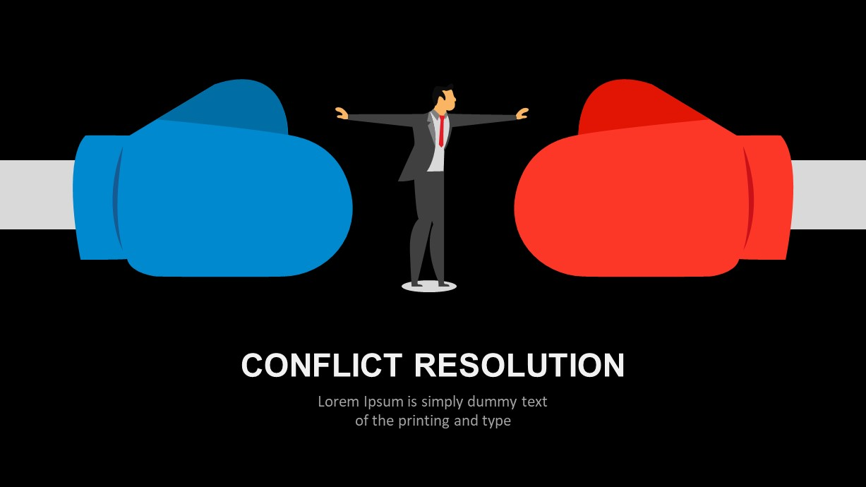 Conflict Resolution Ppt Template