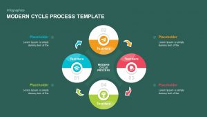 Modern Cycle Process PowerPoint Template