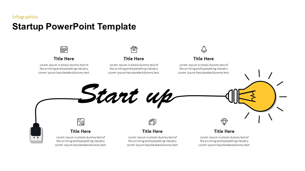 Idea Generation Bulb PowerPoint Template