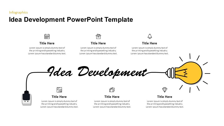 Idea Generation PowerPoint Template