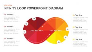 Infinity Loop Diagram PowerPoint Template