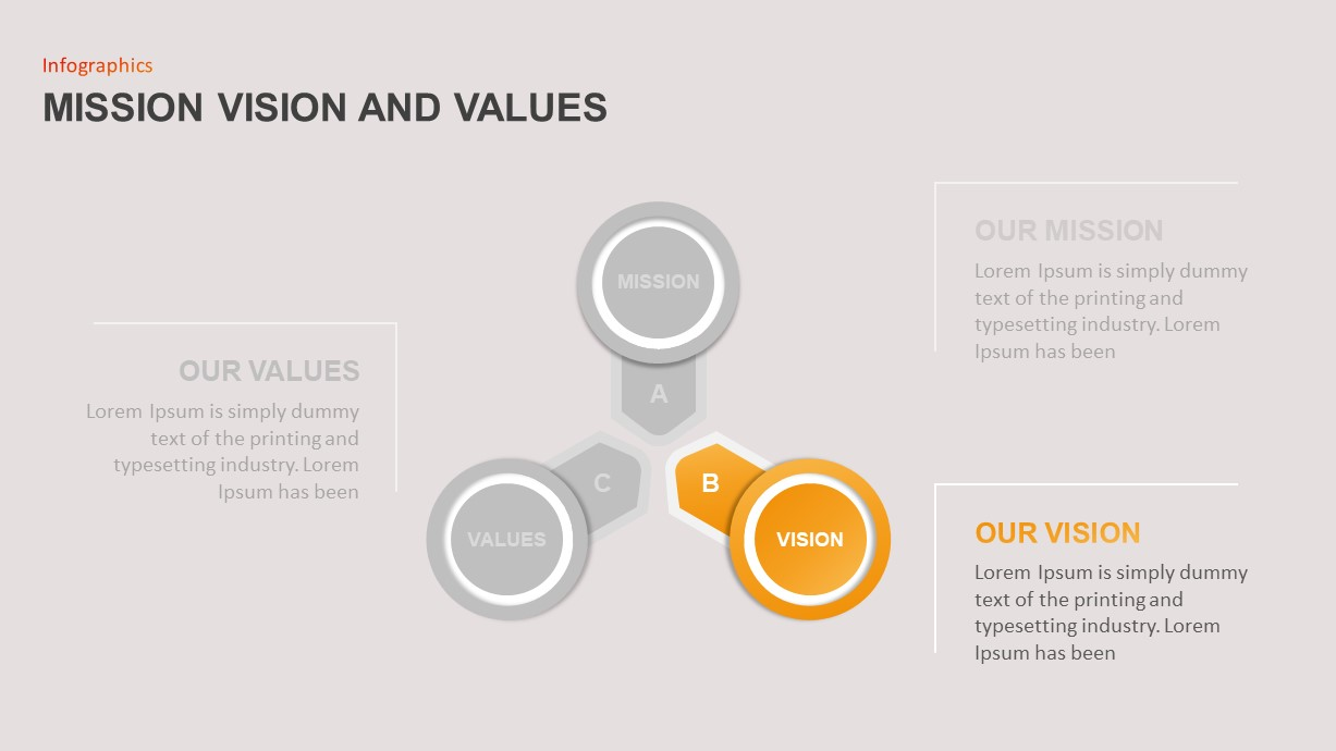 Mission Vision Values Presentation Template