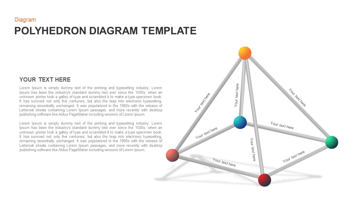 Polyhedron Diagram for PowerPoint
